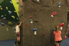 Rock Climbing at Outdoor Rec